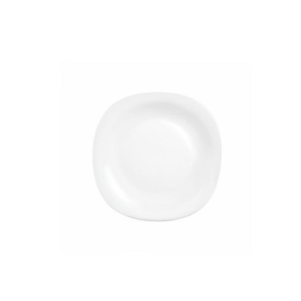 La Opala Soup Plate 6pcs Square White 225mm 0277