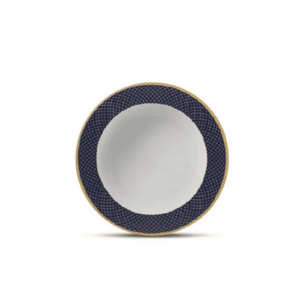 La Opala Soup Plate 6pcs Flowered Regent Blue 225mm 0531