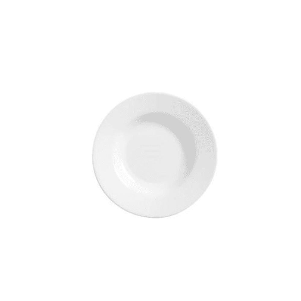 La Opala Soup Plate 6pcs Ivory 205mm 0388