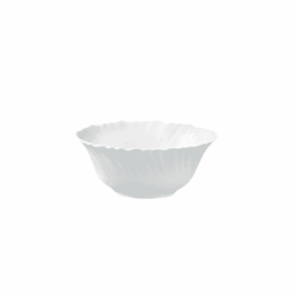 La Opala Veg Bowl 1pc White 110mm 084