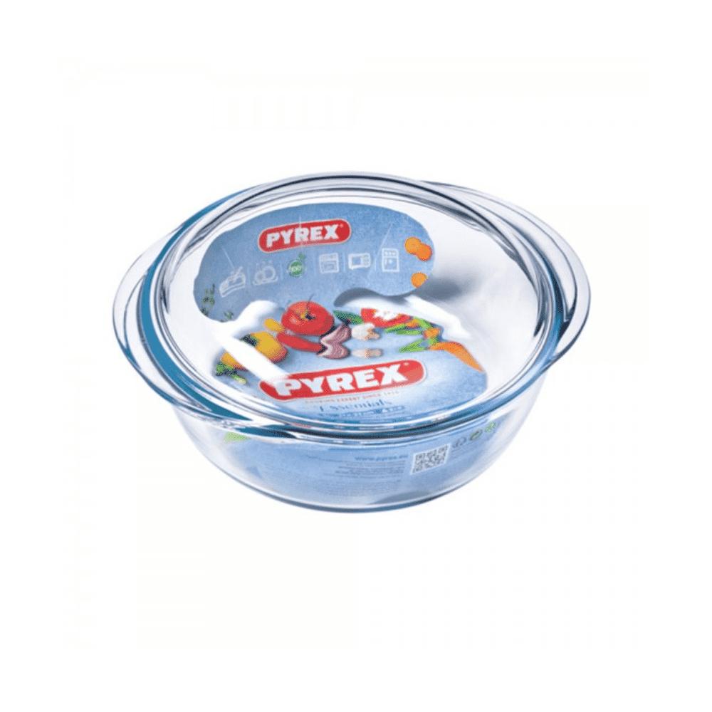 Pyrex Rnd Cass 2L1 (1L6+0L5) Essential Sticker 204A000/7143