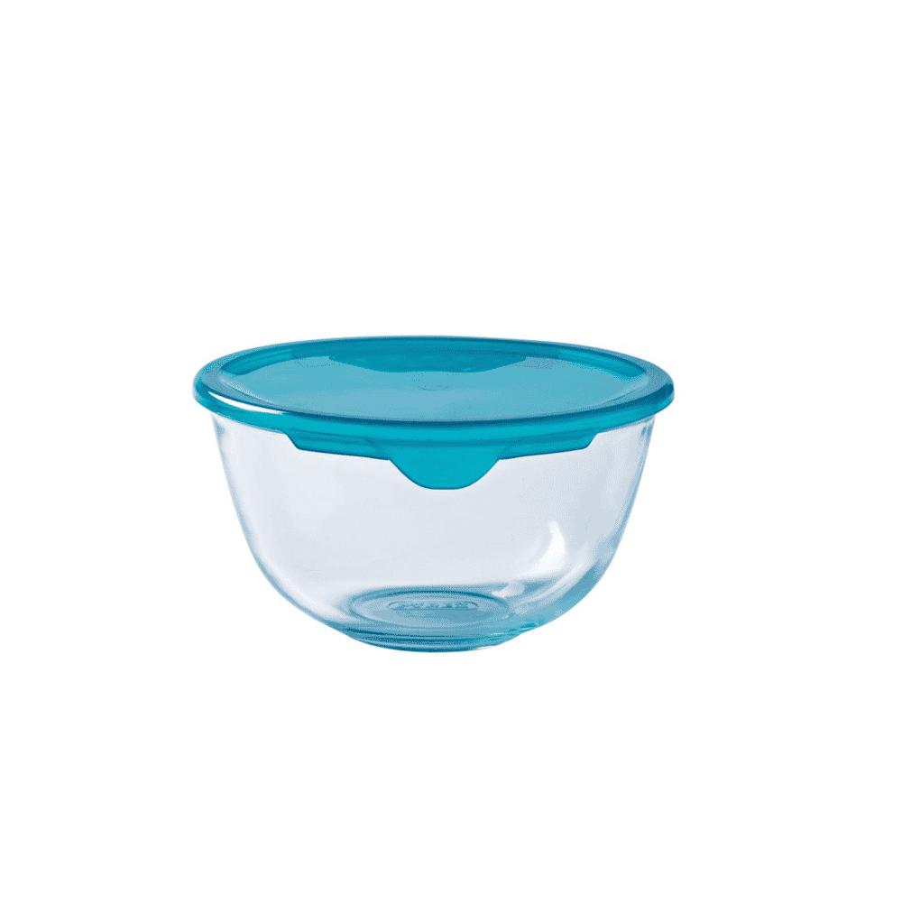 Pyrex Prep&Store Bowl 1L/17cm +Lid 179P000/7043