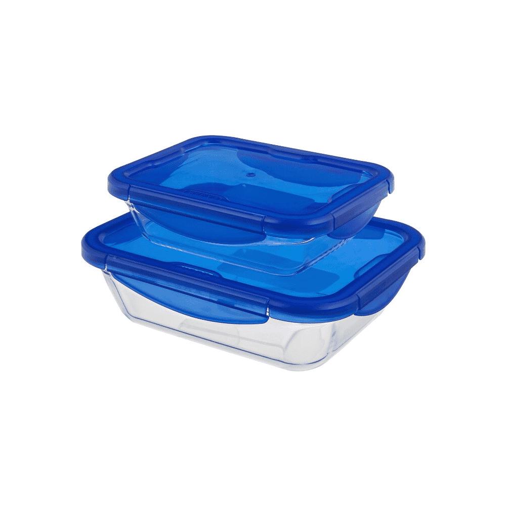 Pyrex Cook&Go 2pc Rectangular Dish+Lid 912S904/6145