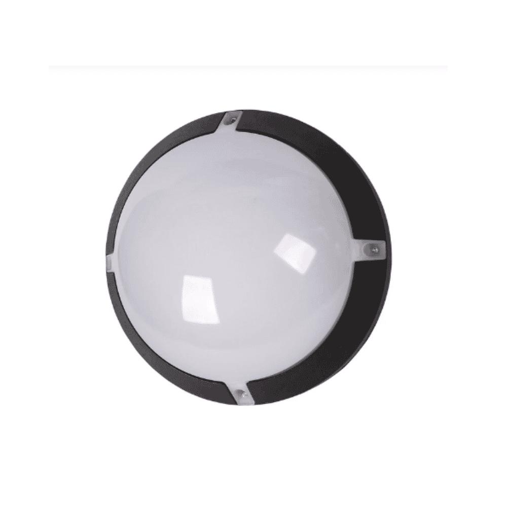 Tronic Bulkhead Outdoor Light 8W Black Tronic CL J600-08-BK-DL