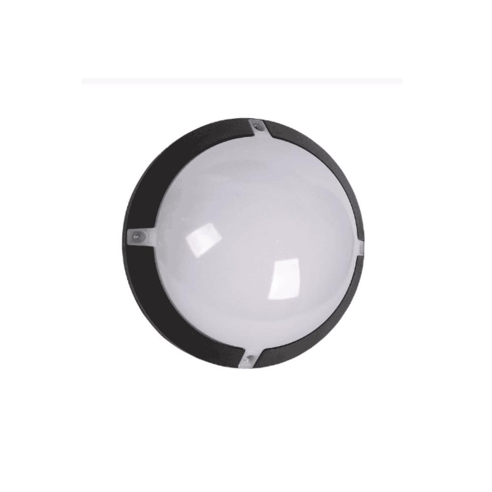 Tronic Bulkhead Outdoor Light 12W Black Tronic CL J600-12-BK-DL