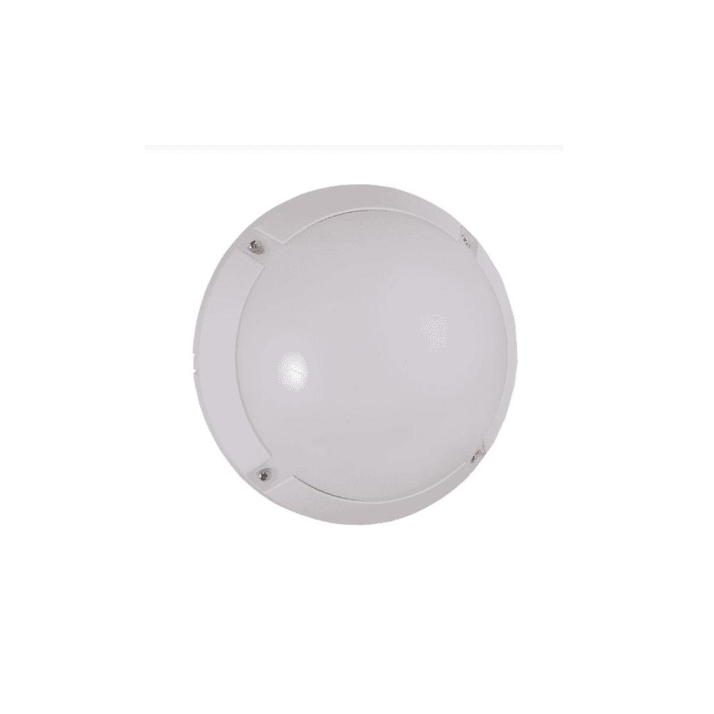 Tronic Bulkhead Outdoor Light 12W White Tronic CL J600-12-WH-DL