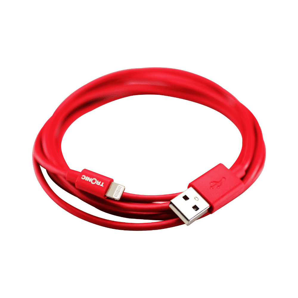 Tronic Cable iPhone5 8 PIN 2M RED – UB IPPV-RD-02