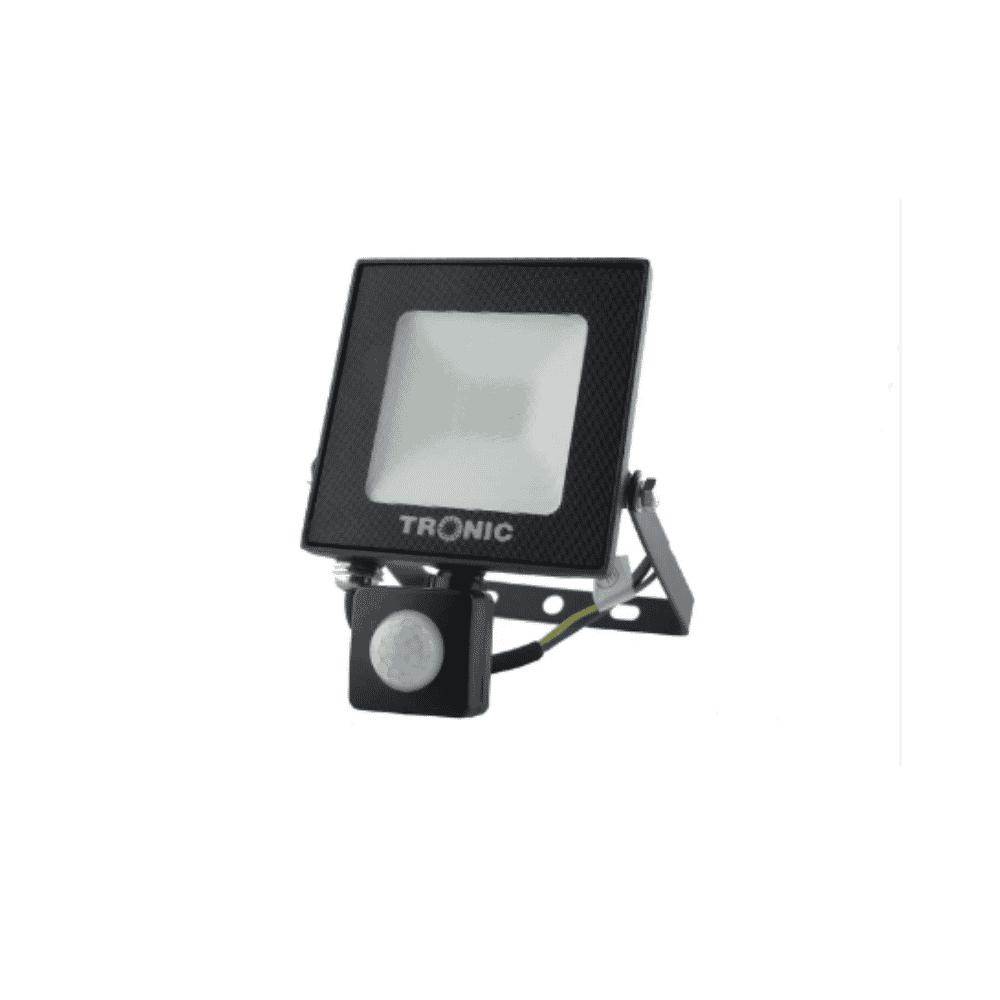 Tronic Flood Light LED SLIM 20W With Sensor Tronic SL 3079-02-PH-BK-DL