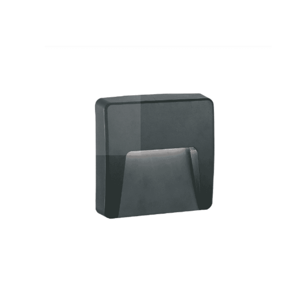 Tronic Bulkhead Fitting LL ABS-4911-BK