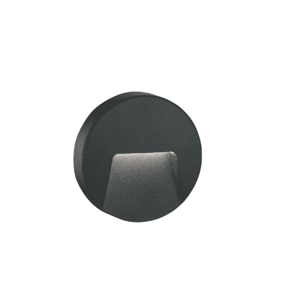 Tronic Bulkhead Fitting LL ABS-4912-BK