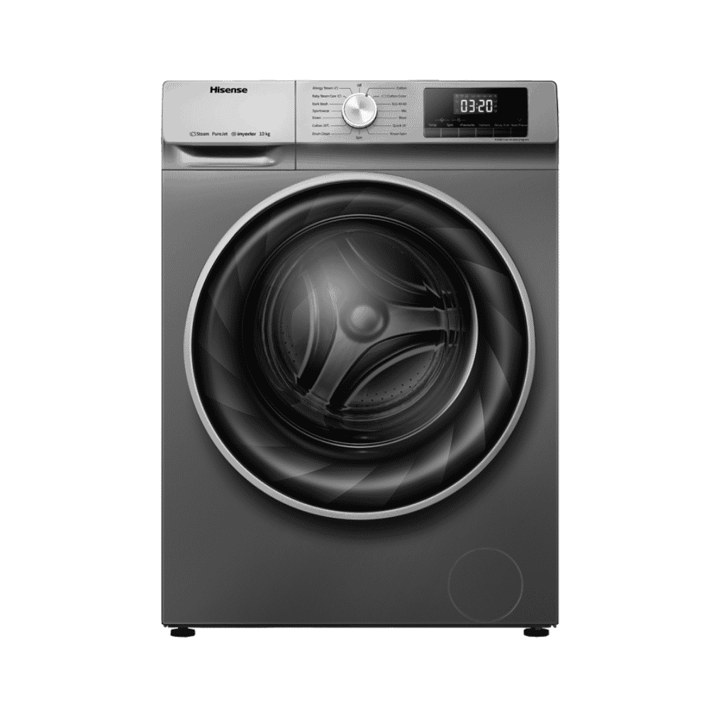 HISENSE Washing Machine WFEH/WFQY1014VJT Titanium 10KG FL