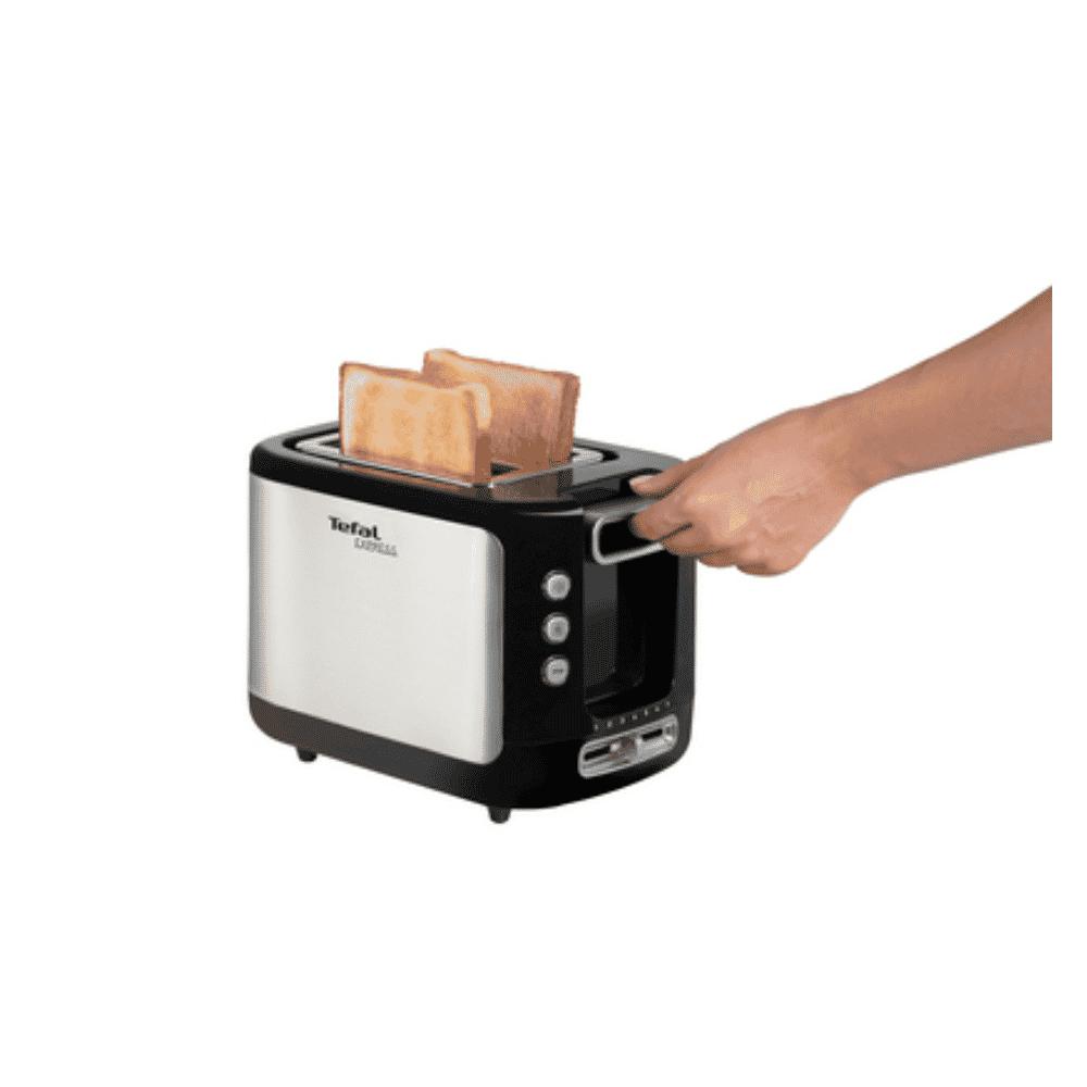 Tefal TT365027 2 Slot Toaster Steel body