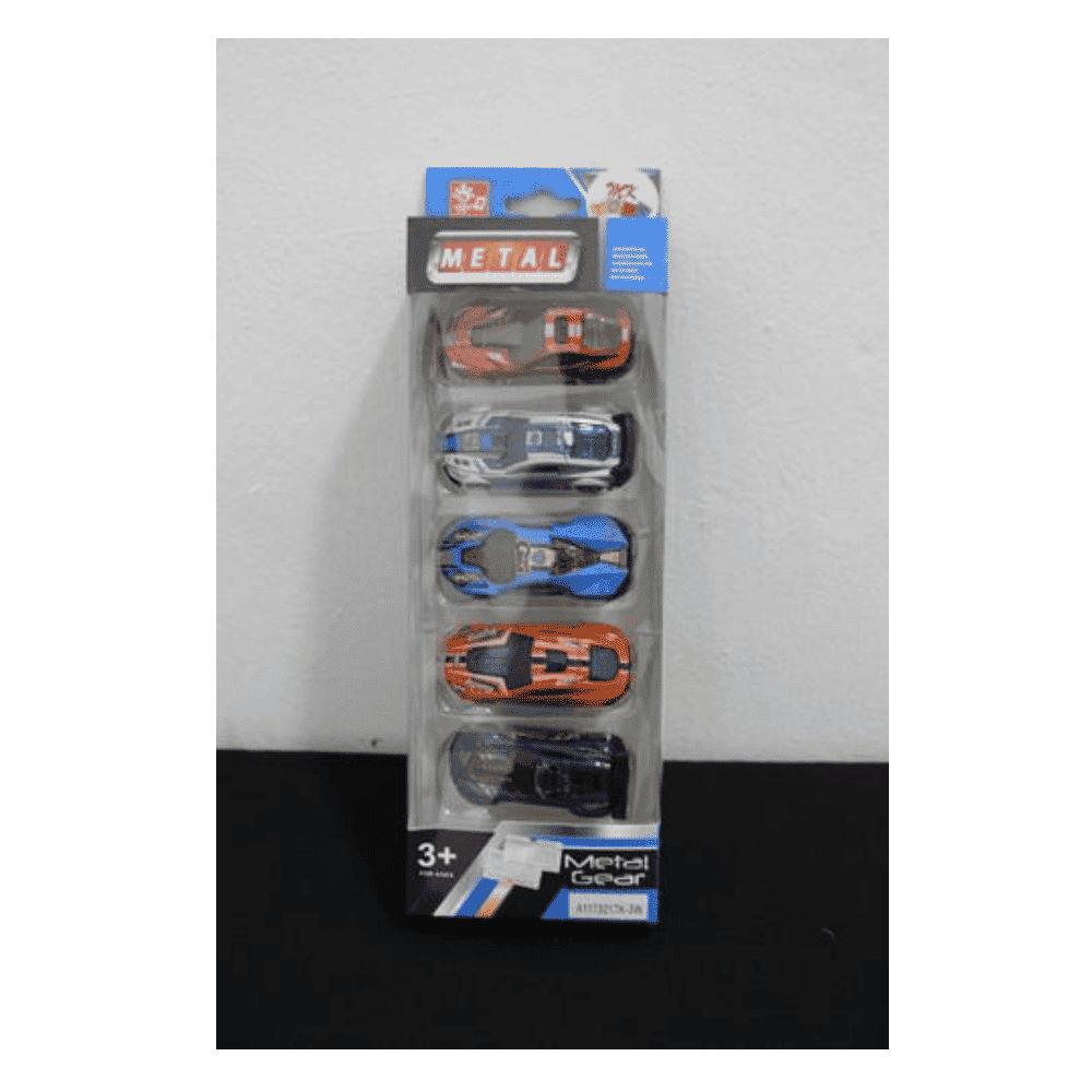 Metal gear toy car
