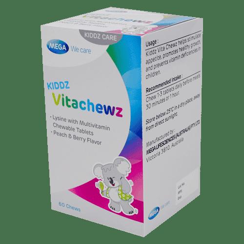kiddz vitachewz 1 - Kiddz Vita Chewz - Growth and appetite boosting multivitamin supplement