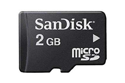 Sandisk 2GB Memory Card