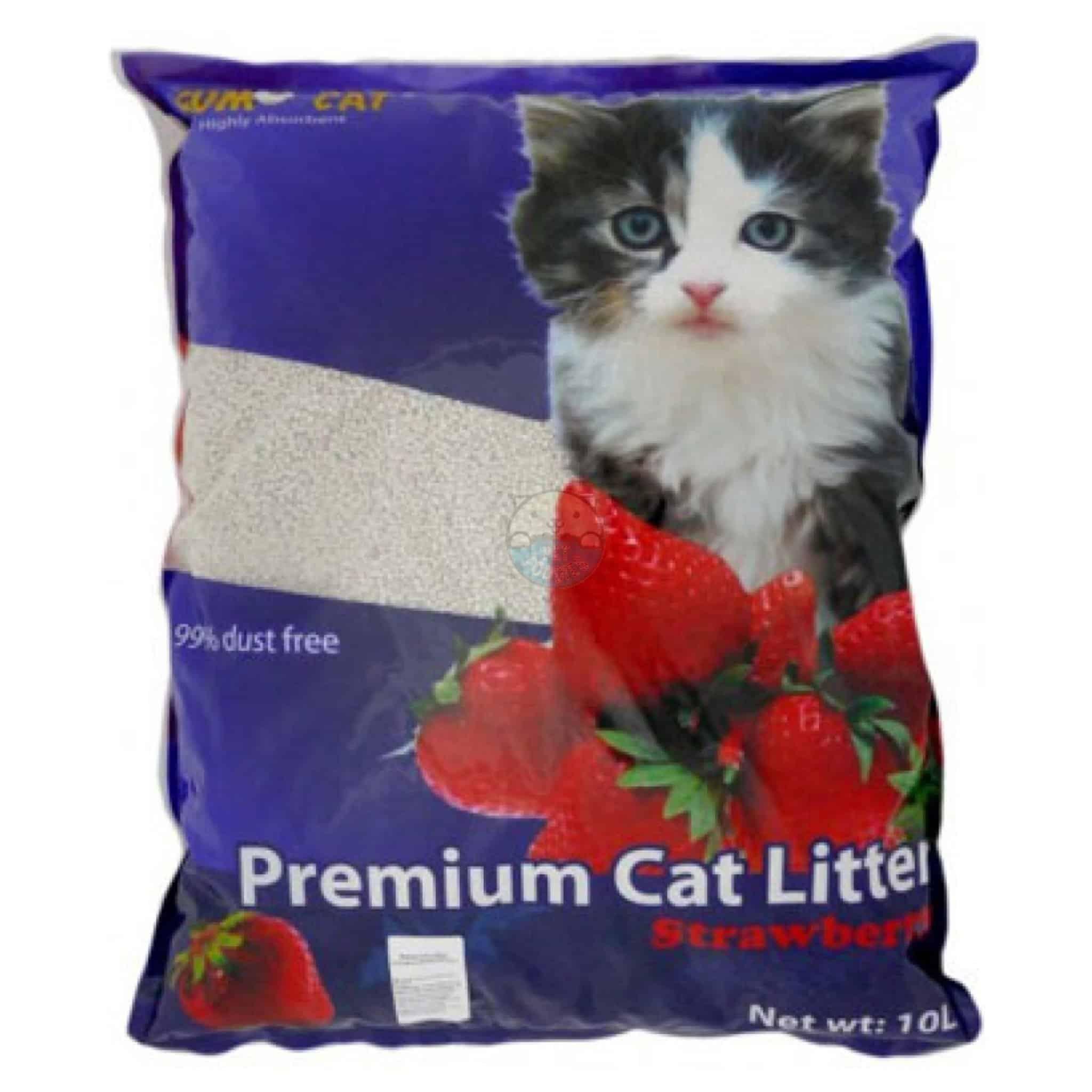 SUMO CAT PREMIUM CAT LITTER STRAWBERRY 10L